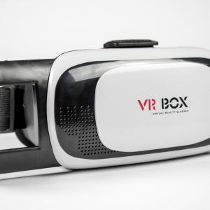 VR Box 2.0 met open telefoon schuif