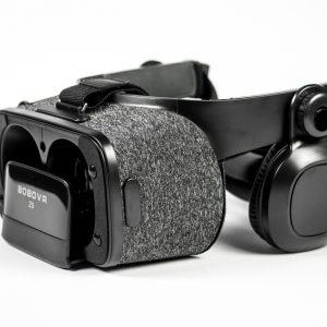 Zijkant BoboVR Z5 bril met headset zwarte kleur